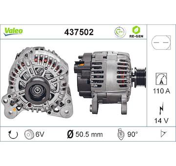 generátor VALEO 437502