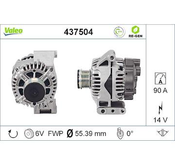 generátor VALEO 437504