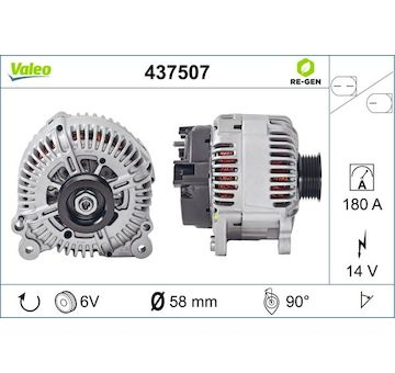 generátor VALEO 437507