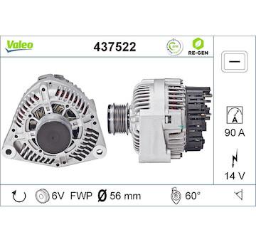 generátor VALEO 437522