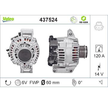 generátor VALEO 437524