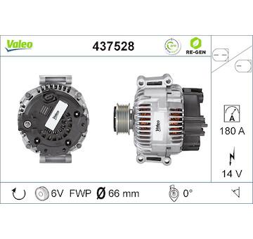 generátor VALEO 437528