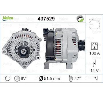 generátor VALEO 437529