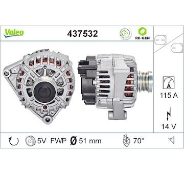 generátor VALEO 437532