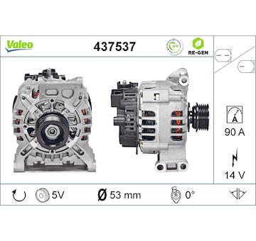 generátor VALEO 437537