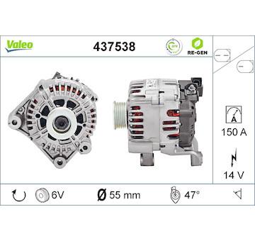 generátor VALEO 437538