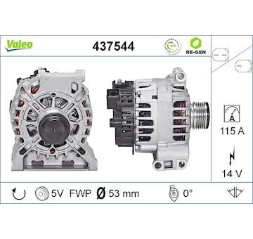 generátor VALEO 437544