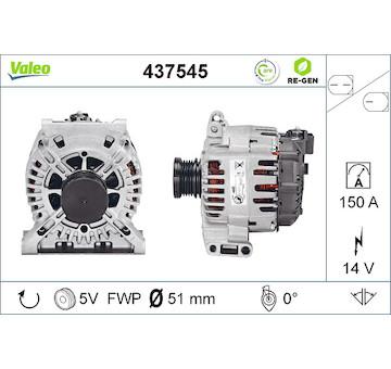 generátor VALEO 437545