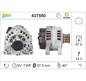 generátor VALEO 437550