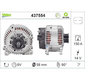 generátor VALEO 437554