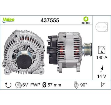 generátor VALEO 437555