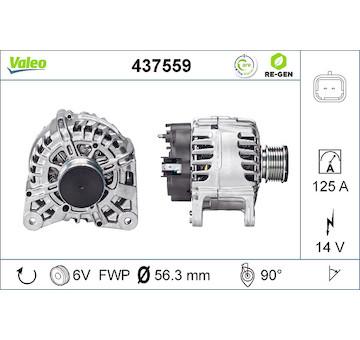 generátor VALEO 437559