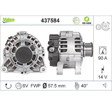 generátor VALEO 437584