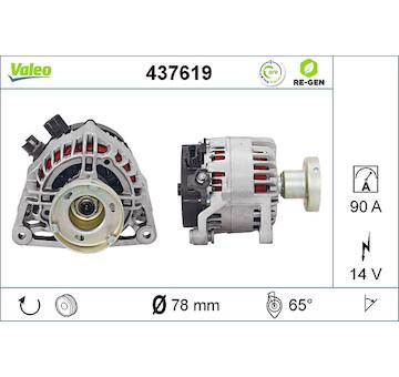 generátor VALEO 437619
