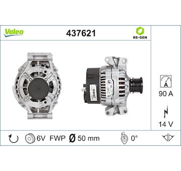 generátor VALEO 437621
