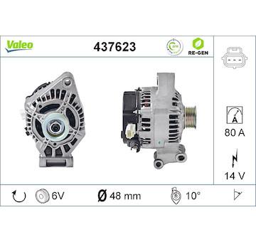 generátor VALEO 437623