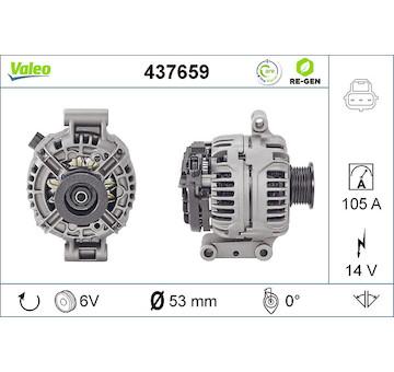 generátor VALEO 437659