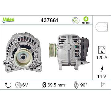 generátor VALEO 437661