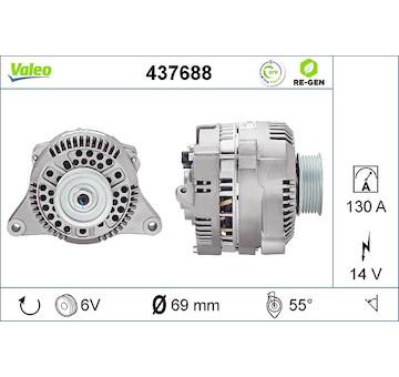 generátor VALEO 437688