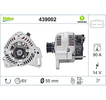 generátor VALEO 439002