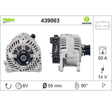 generátor VALEO 439003