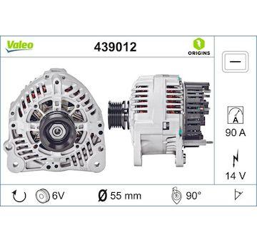 generátor VALEO 439012