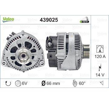 generátor VALEO 439025