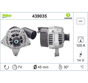 generátor VALEO 439035