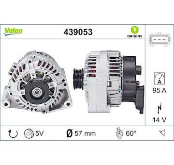 generátor VALEO 439053