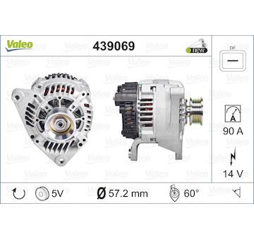 generátor VALEO 439069