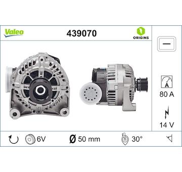 generátor VALEO 439070