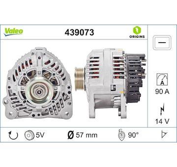 generátor VALEO 439073