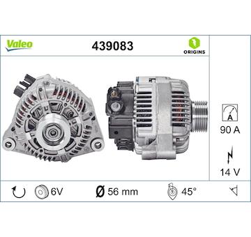 generátor VALEO 439083