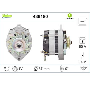 generátor VALEO 439180