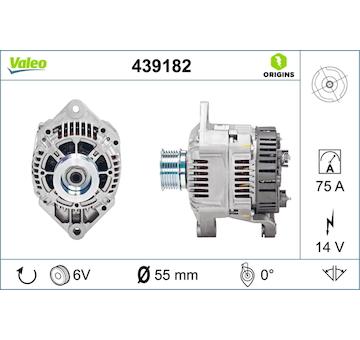 generátor VALEO 439182
