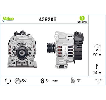 generátor VALEO 439206