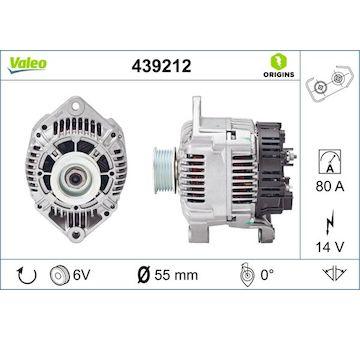 generátor VALEO 439212