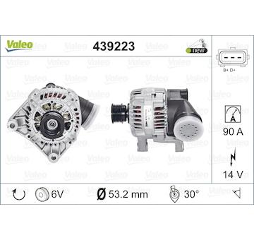 generátor VALEO 439223