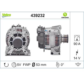 generátor VALEO 439232