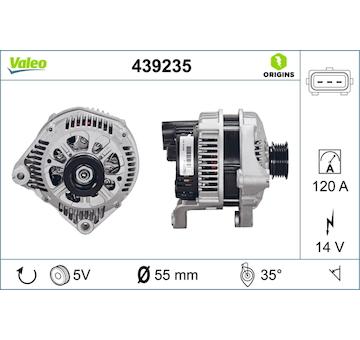 generátor VALEO 439235
