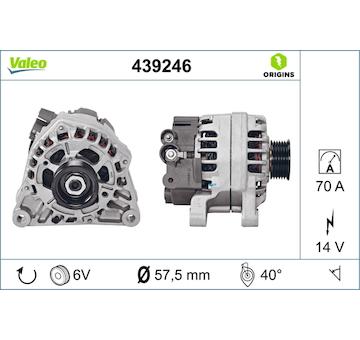 generátor VALEO 439246