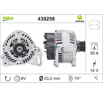generátor VALEO 439258