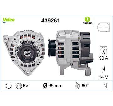 generátor VALEO 439261