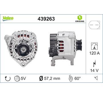 generátor VALEO 439263