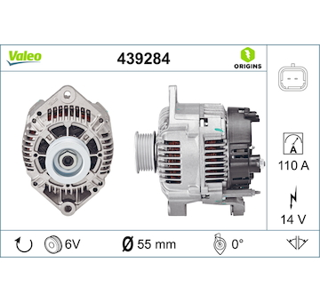 generátor VALEO 439284
