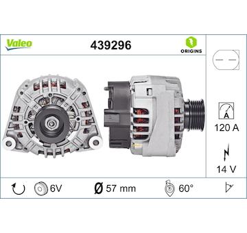 generátor VALEO 439296