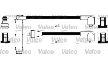 Sada kabelů pro zapalování VALEO 346656