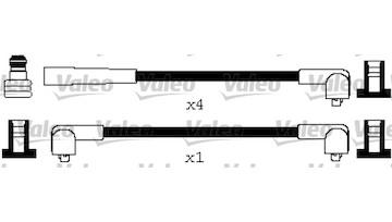 Sada kabelů pro zapalování VALEO 346633
