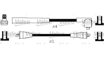 Sada kabelů pro zapalování VALEO 346629