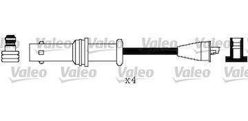Sada kabelů pro zapalování VALEO 346586